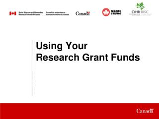 Using Your Research Grant Funds