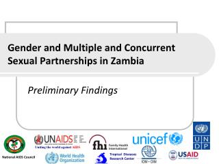 Gender and Multiple and Concurrent Sexual Partnerships in Zambia