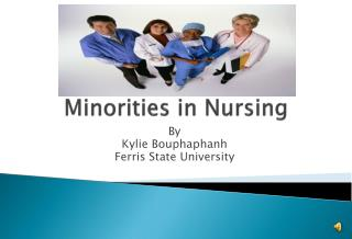 Minorities in Nursing