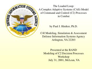 The Loaded Loop: A Complex Adaptive Systems (CAS) Model of Command and Control (C2) Processes