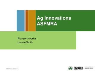 Ag Innovations ASFMRA