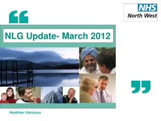NLG Update- March 2012