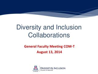 Diversity and Inclusion Collaborations