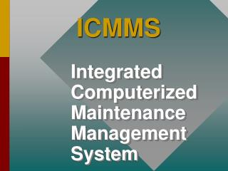 ICMMS