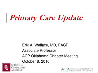 Primary Care Update