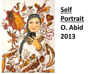 Self Portrait O.  Abid 2013