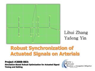 Robust Synchronization of Actuated Signals on Arterials
