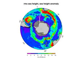 rms sea height, sea height anomaly