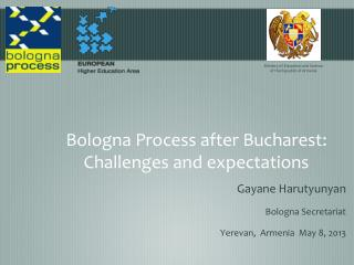 Bologna Process after Bucharest: Challenges and expectations