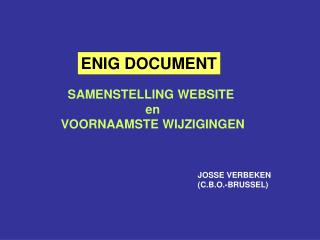 ENIG DOCUMENT