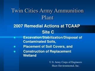 Twin Cities Army Ammunition Plant