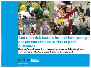 Common risk factors for children, young people and families at risk of poor outcomes