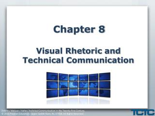 Chapter 8 Visual Rhetoric and Technical Communication
