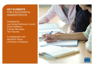KEY ELEMENTS FOR A SUCCESSFUL ADMINISTRATION