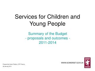 Services for Children and Young People