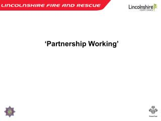 'Partnership Working'