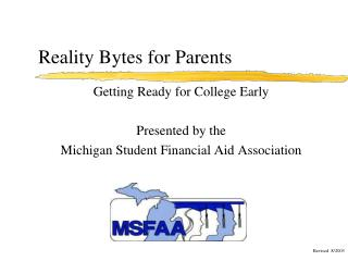 Reality Bytes for Parents