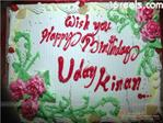 UdayKiran's Birthday