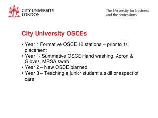 City University OSCEs
