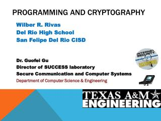 Programming and cryptography
