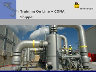 Training On Line – CONA  Shipper