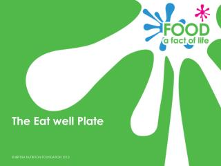 The Eat well Plate