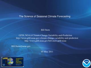 The Science of Seasonal Climate Forecasting
