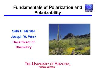 Fundamentals of Polarization and Polarizability