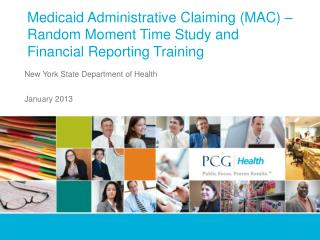 Medicaid Administrative Claiming (MAC) – Random Moment Time Study and Financial Reporting Training