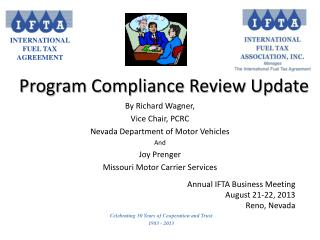 Program Compliance Review Update