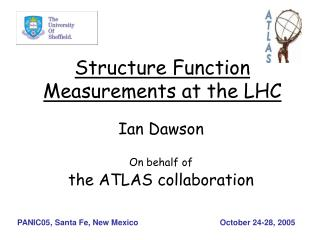 Structure Function Measurements at the LHC