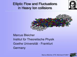 Elliptic Flow and Fluctuations  in Heavy Ion collisions
