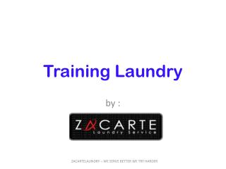 Training Laundry