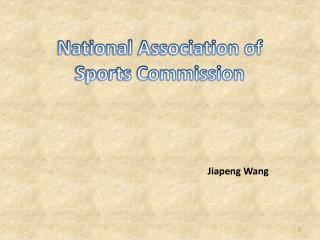 National Association of Sports Commission