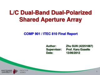 L/C Dual-Band Dual-Polarized Shared Aperture Array