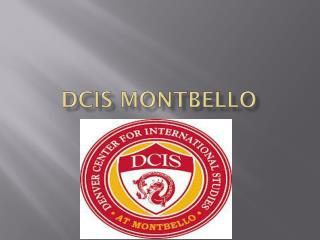 Dcis Montbello
