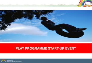 PLAY PROGRAMME START-UP EVENT
