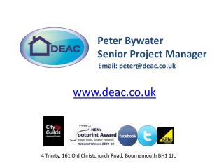 Peter Bywater Senior Project  Manager
