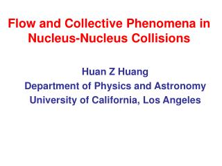 Flow and Collective Phenomena in Nucleus-Nucleus Collisions