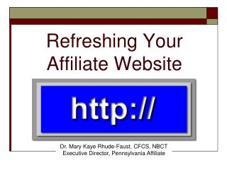 Refreshing Your Affiliate Website