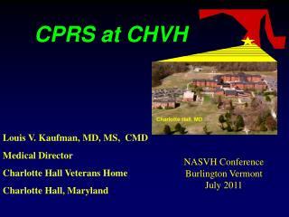 CPRS at CHVH