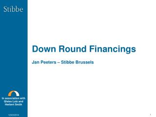 Down Round Financings