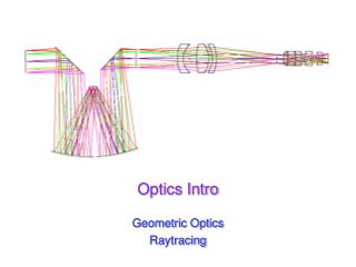 Optics Intro