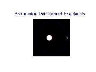 Astrometric Detection of Exoplanets