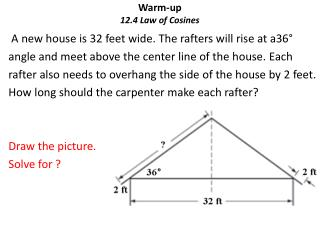Warm-up 12.4 Law of Cosines
