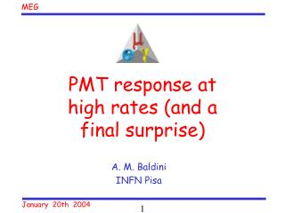 PMT response at high rates (and a final surprise)