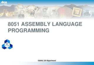 8051 ASSEMBLY LANGUAGE PROGRAMMING