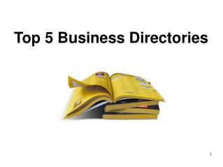 Top 5 Business Directories