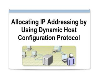 Allocating IP Addressing by Using Dynamic Host Configuration Protocol