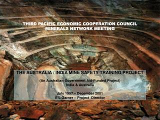 THIRD PACIFIC ECONOMIC COOPERATION COUNCIL MINERALS NETWORK MEETING